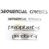 Sequential Circuits Badge en aluminium Prophete-5
