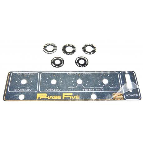 FX/BOSS/Roland pedals, AP-5 badge kit